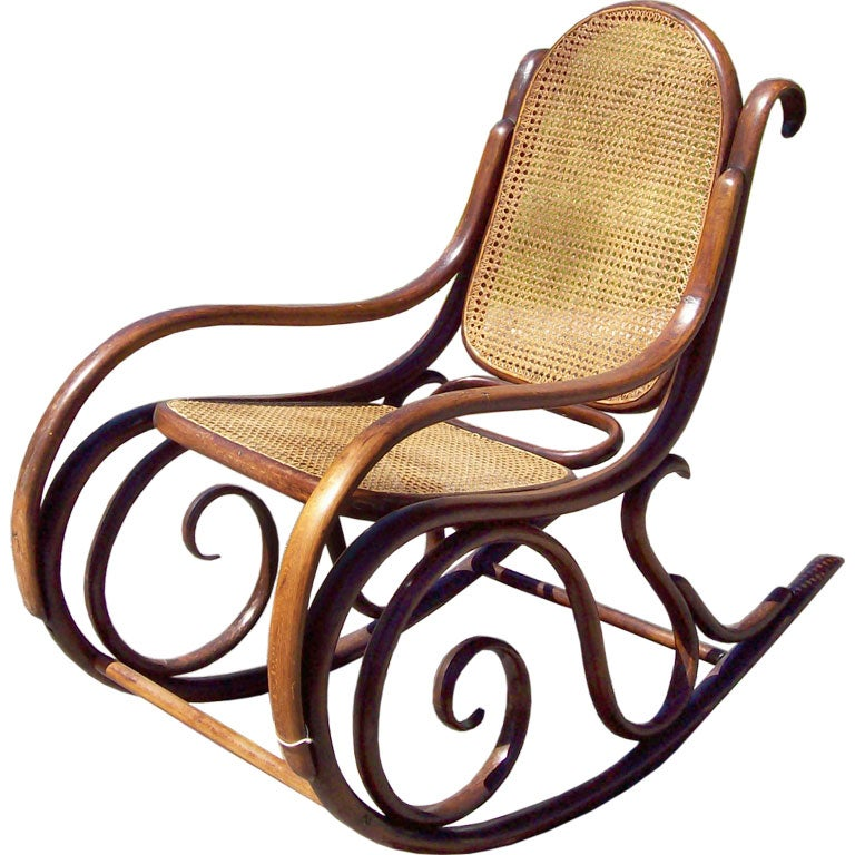 Antique Thonet Rocking Chair SALE 1 - Antique Thonet Rocking Chair SALE At 1stdibs