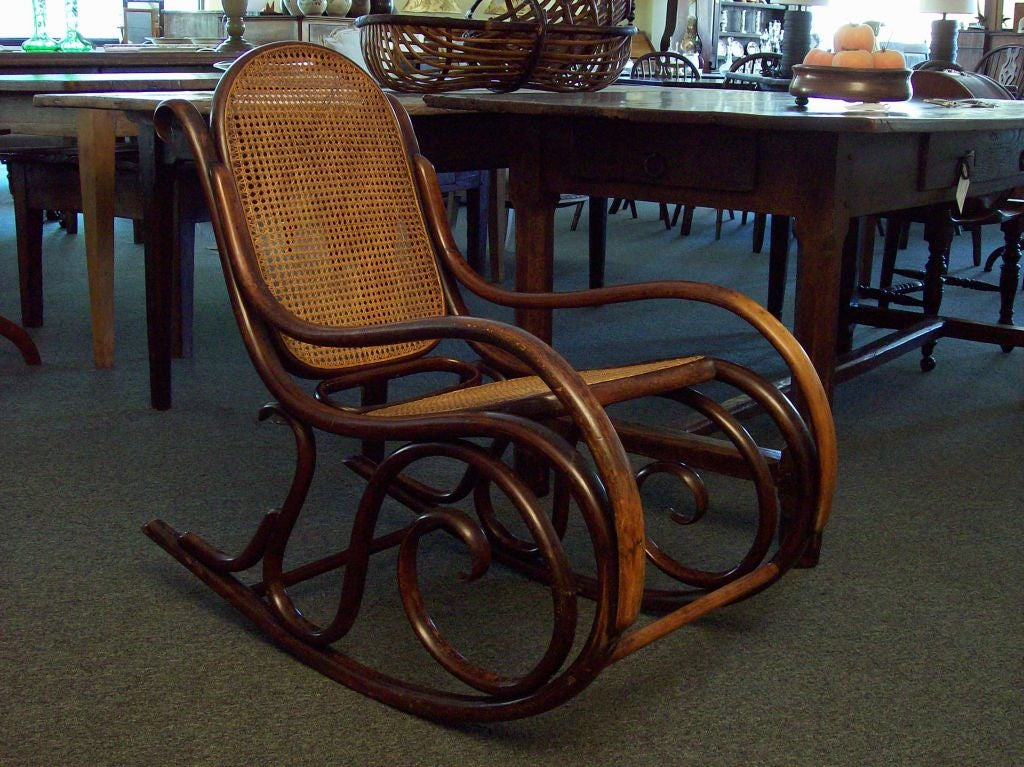 antique thonet chairs for sale. antique thonet rocking chair sale at 1stdibs chairs for sale