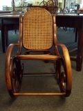 Antique Thonet Rocking Chair SALE image 3