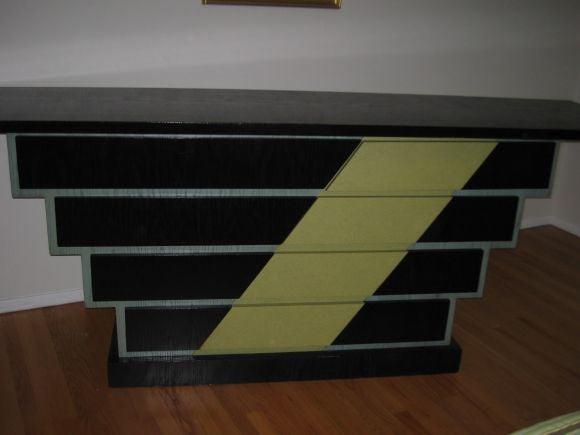 custom designed sideboard at 1stdibs. Black Bedroom Furniture Sets. Home Design Ideas