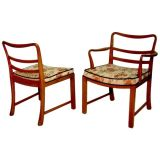 Set of 6 Edward Wormley Dining Chairs