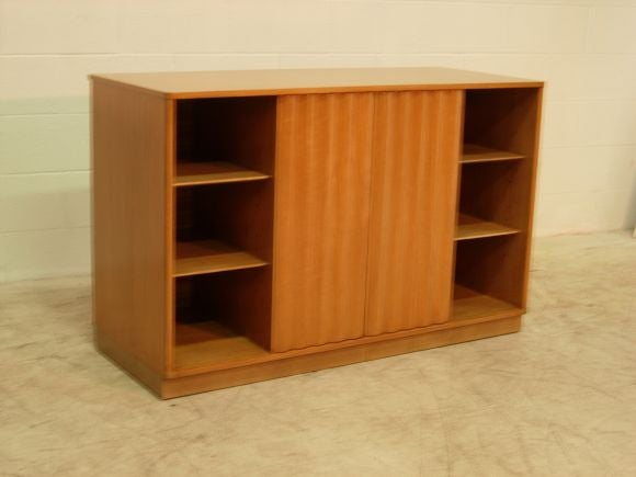 Cabinet with Hotdog Handles<br />