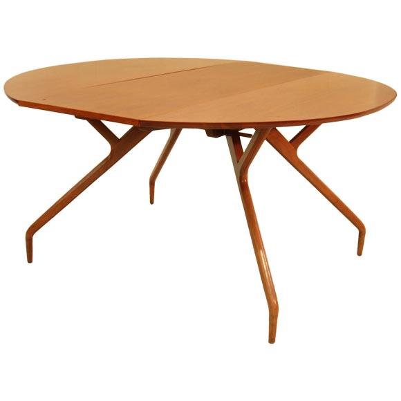 Greta Grossman Drop Leaf Table