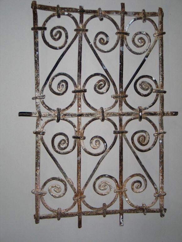 Set of 5 islamic decorative iron wall panels at 1stdibs - Wrought iron decorative wall panels ...