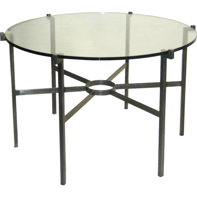 French Modern Neoclassical Dining Table in the Manner of  : duplantier2 from www.1stdibs.com size 768 x 768 jpeg 37kB