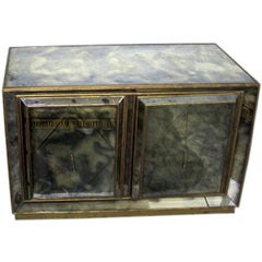 French Modern Neoclassical Mirror Commode / Chest of Drawers, Serge Roche