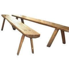 French Modern Craftsman Bench
