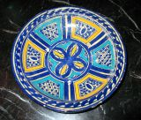3 Hand-painted Islamic Platters / Bowls