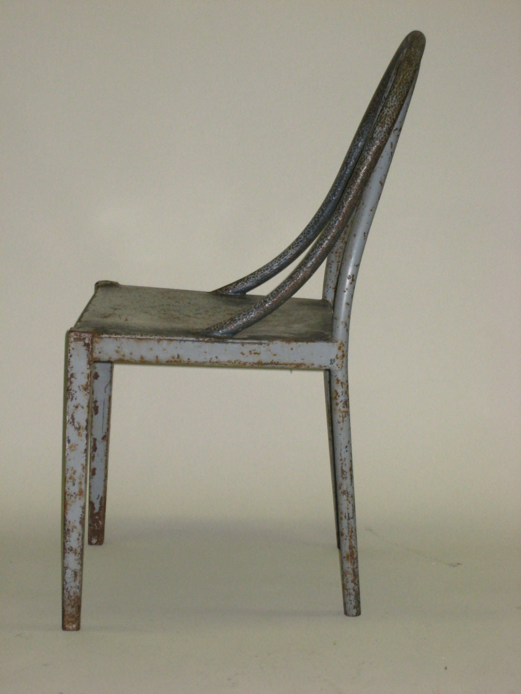 Mid-20th Century Important Modernist Prototype Desk & Chair by U.A.M. Attributed to Le Corbusier For Sale