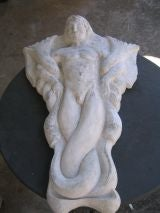 Large Wall Base Relief Sculpture of a Sea God