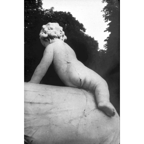 Large Format B/W Photograph 'Versailles Garden Sculpture' by David Armstrong