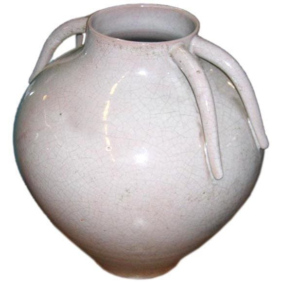 Italian Mid-Century Stoneware Vase by Marcello Fantoni 2