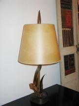 Leaf Motif Table Lamp