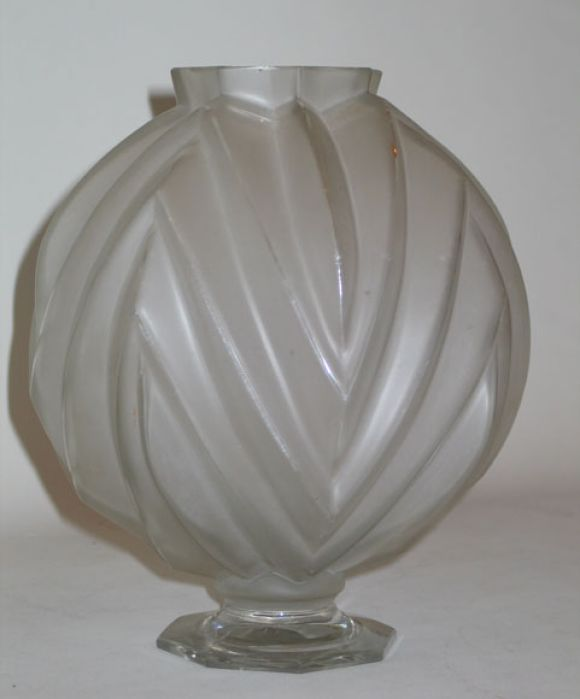French Art Deco Vase by Sabino 2