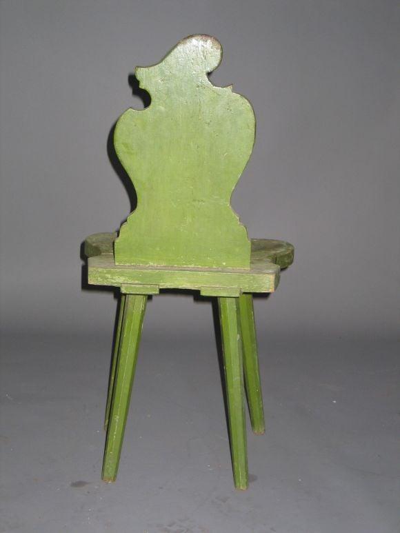 Four Italian Futurist 'Sgabello' Chairs or Stools For Sale 2
