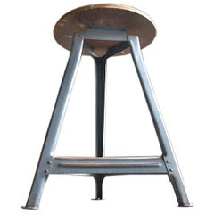Rare Industrial Stool from the Bauhaus in Berlin, Germany, 1930