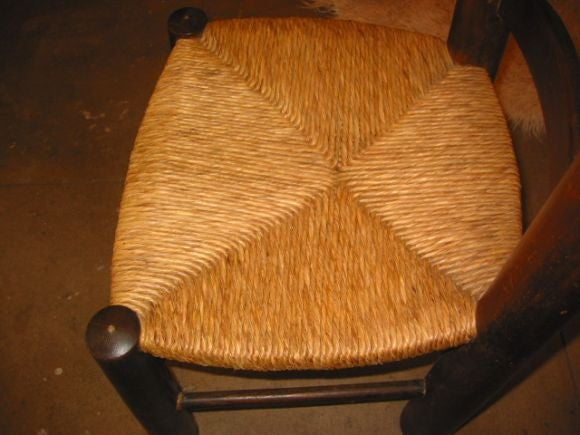 Set of 6 Chairs Attribute to Charlotte Perriand For Sale 2