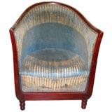 French 30s Armchair w/ original mohair