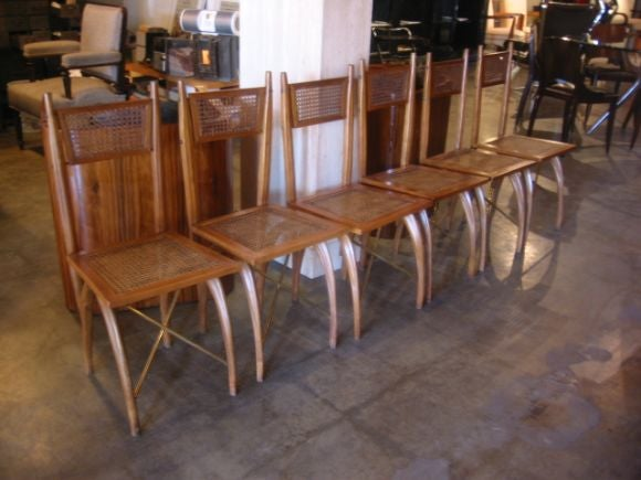 Unusual Italian Bentwood Chairs For Sale 2