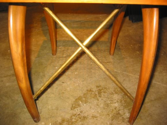 Brass Unusual Italian Bentwood Chairs For Sale