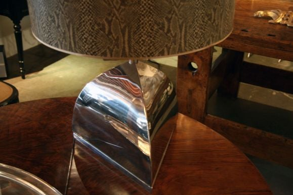 Late 20th Century Italian 1970s Table Lamp For Sale