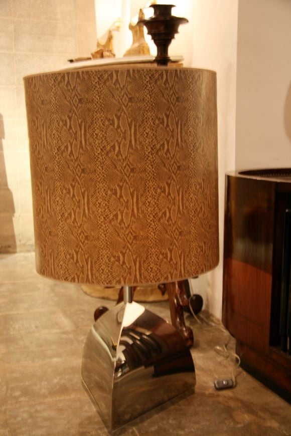 Italian 1970s Table Lamp For Sale 3