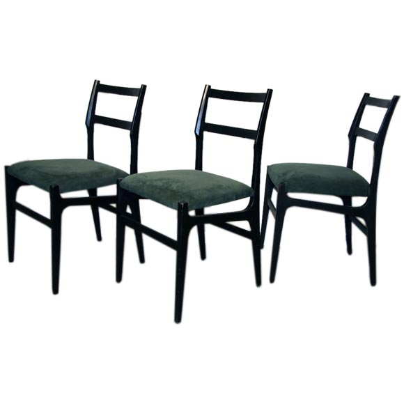 Gio Ponti Dining Chairs 1