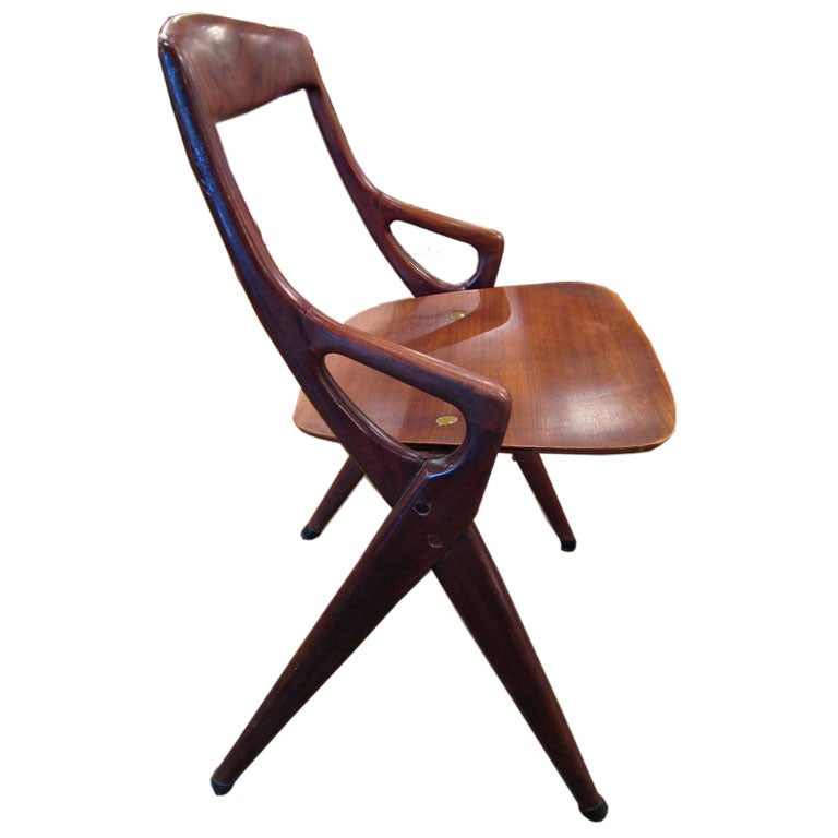 1950 S Wood Furniture ~ S italian wood chairs at stdibs