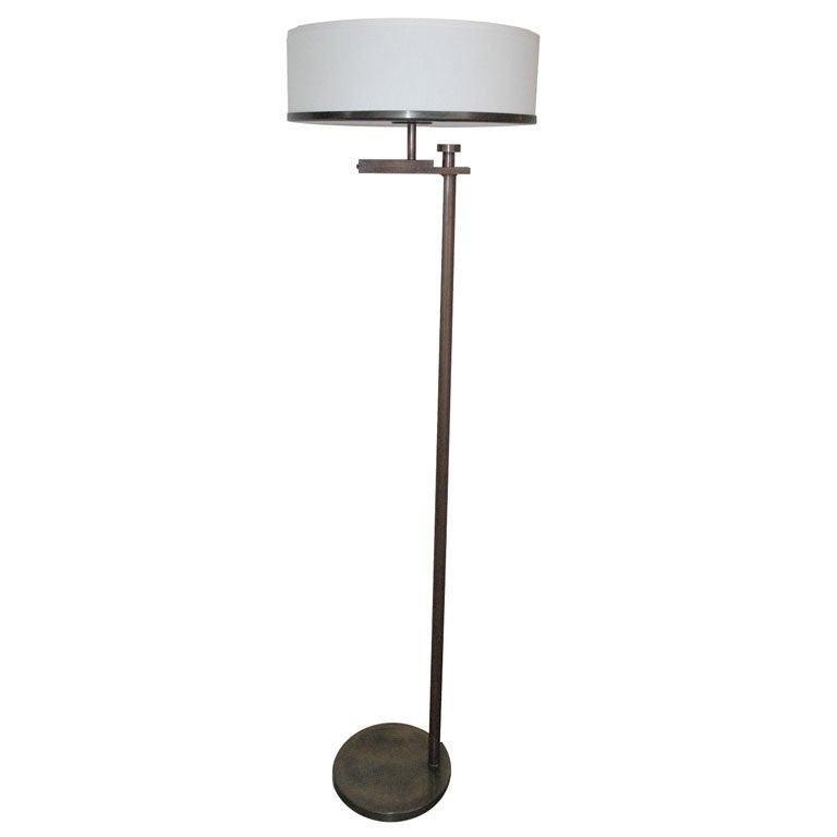 rewire quotflip topquot floor lamp at 1stdibs With rewire halogen floor lamp