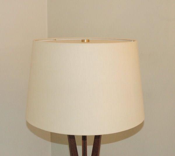 three leg floor lamp at 1stdibs. Black Bedroom Furniture Sets. Home Design Ideas