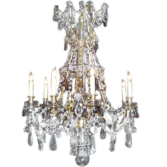 19th century multi colored chandelier at 1stdibs