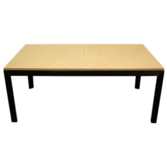 Cork Top Dining Table Designed By Paul Frankl At 1stdibs