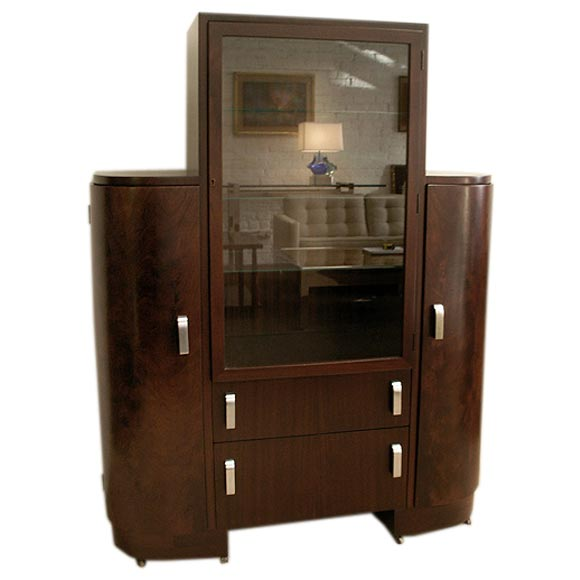 1930s American Modern Cabinet Designed By Donald Deskey At