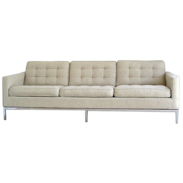 florence knoll sofa for knoll international at 1stdibs. Black Bedroom Furniture Sets. Home Design Ideas