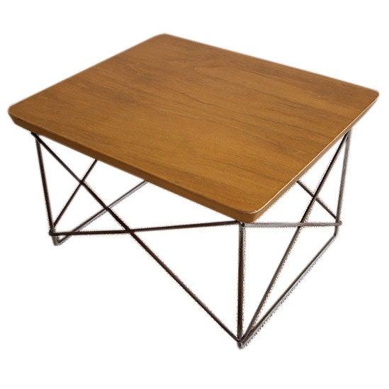 Original Vintage Eames Ltr Table At 1stdibs