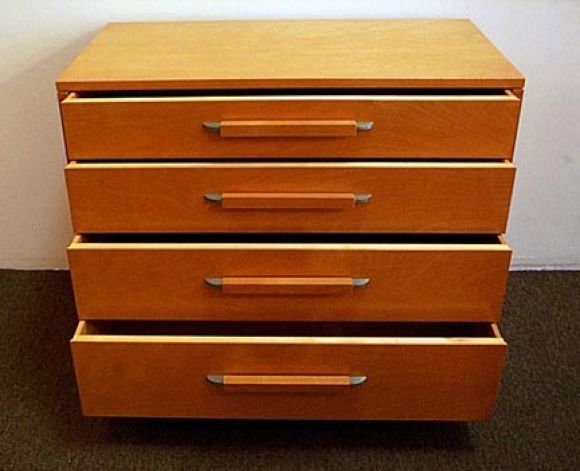 Elegant Dresser By Eliel Saarinen For The Johnson Furniture Company 2