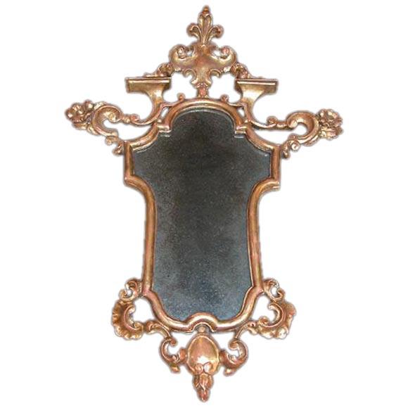 Italian Baroque-Style Mirror