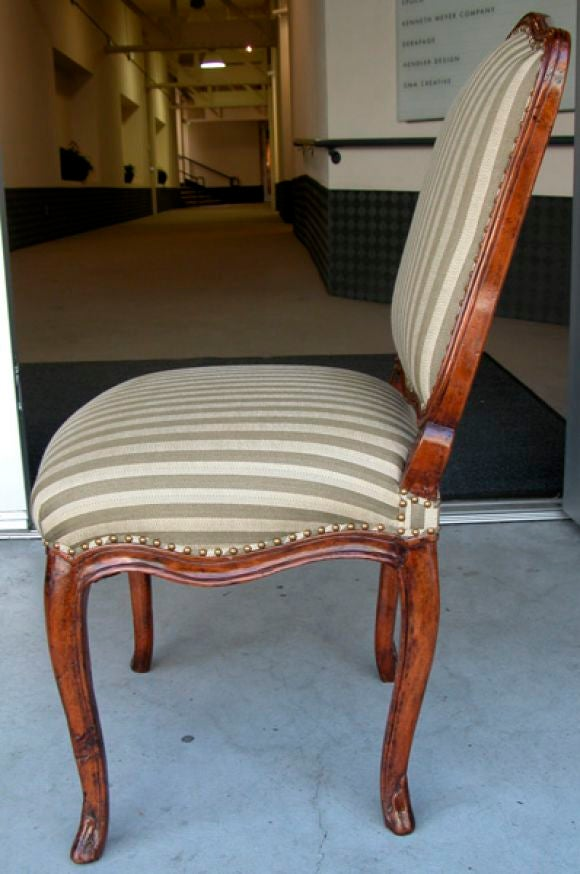Set Of 6 Rococo Dining Chairs At 1stdibs
