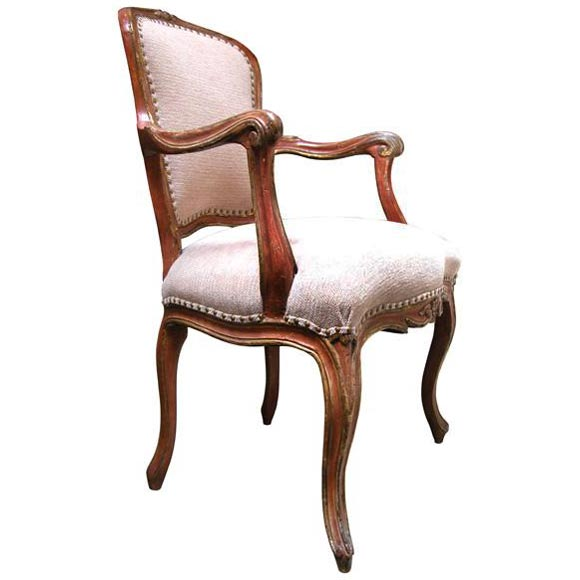 Louis Xv Fauteuil At 1stdibs