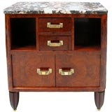 A French Art Deco 2-Drawer Commode