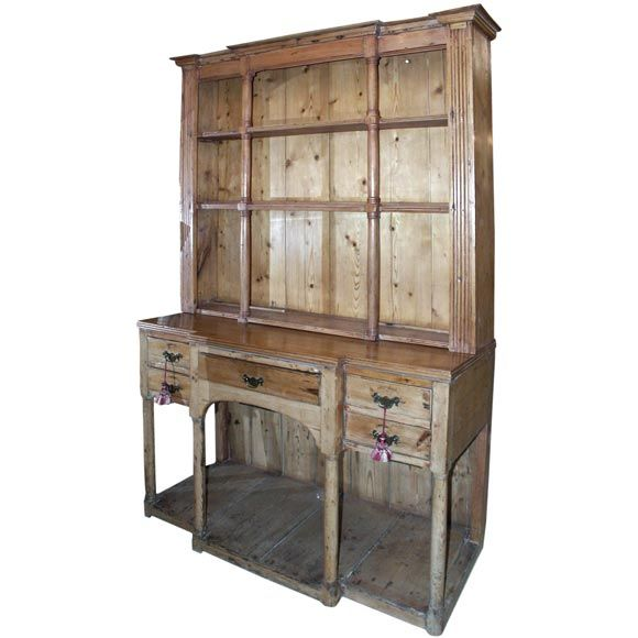 Pretty Pine Hutch at 1stdibs