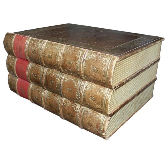 Leather Box Made To Look Like Stacked Books At 1stdibs