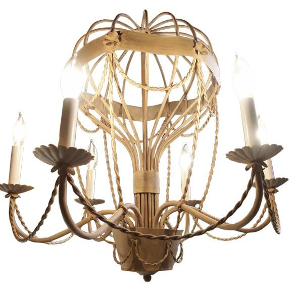 Vintage Hot Air Balloon Chandelier At 1stdibs
