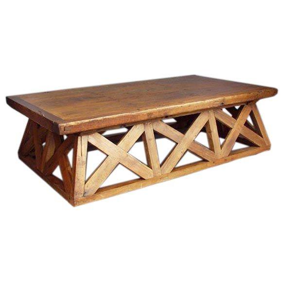 Antique Door Coffee Table At 1stdibs