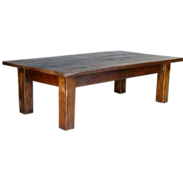 Cipre Wood Plank Coffee Table 1