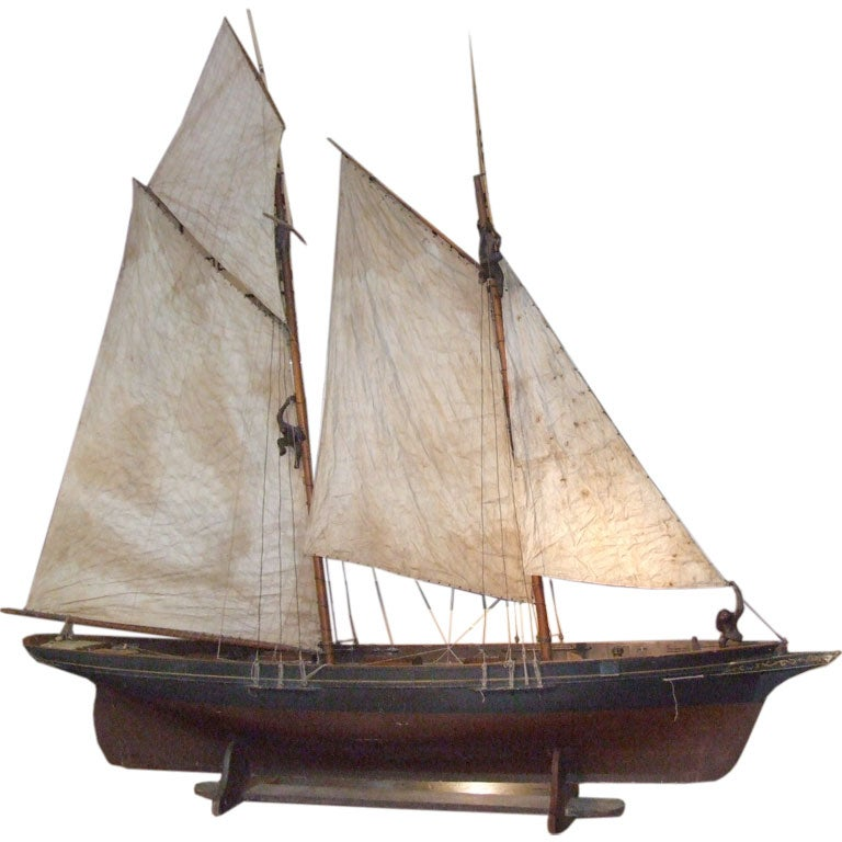A Wonderful Scale Fully Rigged Sailing Ship Model
