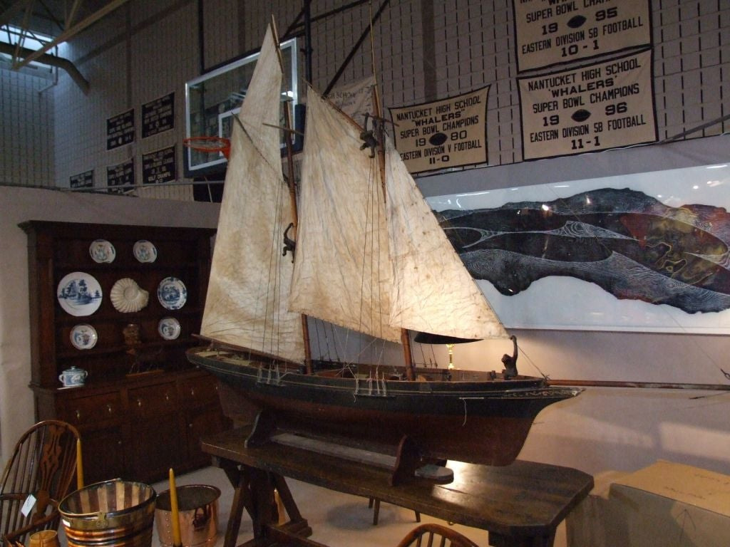 A Wonderful Large-Scale Fully Rigged Sailing Ship Model 4