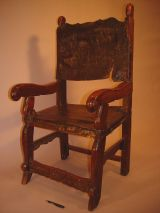 Late 17th Century Spanish (or Spanish Colonial) armchair