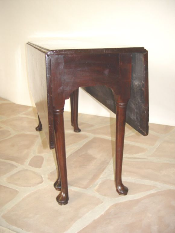 Queen Anne Gate Leg Table At 1stdibs