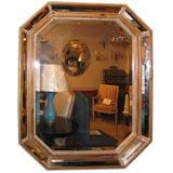 Octagonal Bevelled Mirror